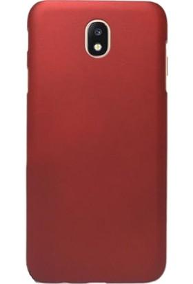 Microcase Samsung Galaxy C8 Premium Silikon Kılıf + Tempered Cam