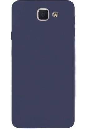 Microcase Samsung Galaxy J7 Max Premium Mat Silikon Kılıf + Tempered Cam