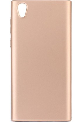 Microcase Zenfone Live ZB501KL Köşeli Sert Rubber Kılıf + Tempered Cam