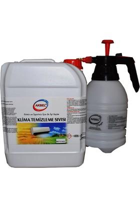 Akbel Klima Temizleme Sıvısı (Direk Kullanım) 5 Kg+Uygulama Pompası