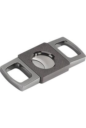 Miami Metal Kare Puro Kesici Gunmetal (62 Ring)