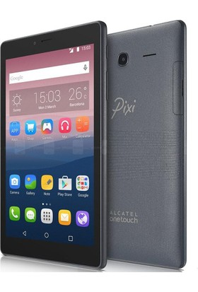 "Alcatel Pixi 4 8GB 7"" Tablet - Siyah"