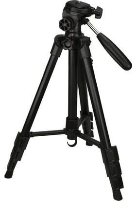 Hobimtek Fotoğraf Asansörlü Video Tripod 140cm Alüminyum Ayak