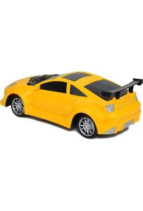 Power Hob Uzaktan Kumandalı Spor Araba 27 cm Sarı