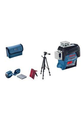 Bosch GLL 3-80 C + BT 150 Çizgili Hizalama Lazeri