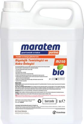 Maratem M250 Tuvalet Banyo Giderleri İçin Biyolojik Temizleyici Koku Önleyici 5 L