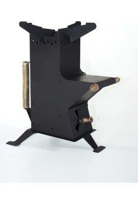Metal Tasarım Roket Ocak/Soba
