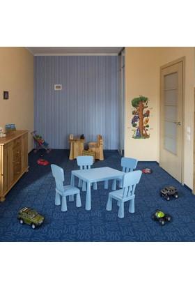 Hepsiburada Home Mini Çocuk Masa-Sandalye Seti - Mavi