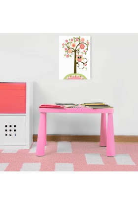 Hepsiburada Home Mini Çocuk Masası Pembe