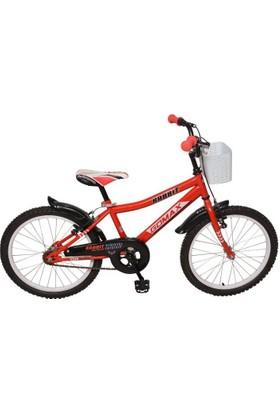 """Gomax Rabbit 16"""" Jant Erkek Bisikleti Kırmızı"""