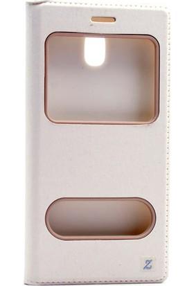 Gpack Samsung Galaxy J5 Pro 2017 Kılıf Gizli Mıknatıslı Dolce + Cam