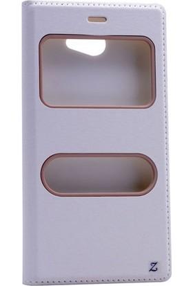 Gpack General Mobile Gm6 Kılıf Gizli Mıknatıslı Dolce Case + Cam