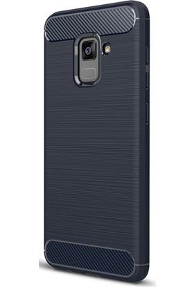 Gpack Samsung Galaxy A5 2018 Kılıf Room Silikon Kılıf + Cam + Cam + Kalem