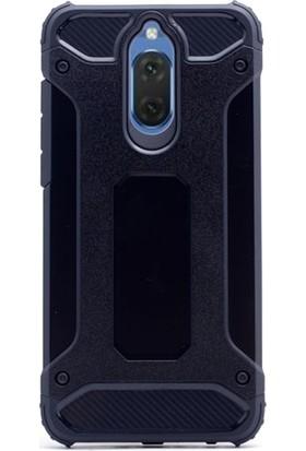 Gpack Huawei Mate 10 Lite Kılıf Sert Çift Katmanlı Crash Kılıf + Cam + Kalem