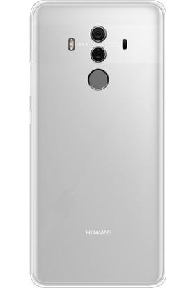 Gpack Huawei Mate 10 Pro Kılıf 02 mm İnce Silikon Kılıf + Cam