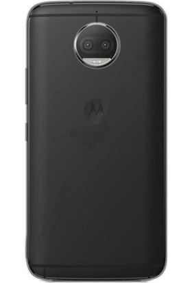 Gpack Motorola Moto G5S Plus Kılıf 02 mm İnce Silikon Kılıf + Cam