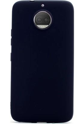 Gpack Motorola Moto G5S Plus Kılıf Premier Silikon Kılıf + Cam