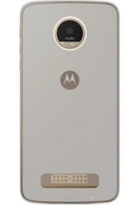 Gpack Motorola Moto Z2 Play Kılıf 02 mm İnce Silikon Kılıf + Cam