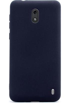 Gpack Nokia 2 Kılıf Premier Silikon Kılıf + Cam