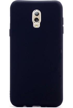 Gpack Samsung Galaxy C8 Kılıf Premier Silikon Kılıf + Cam