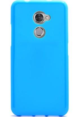 Gpack Vodafone V8 Kılıf Süper Silikon Kılıf + Cam + Kalem