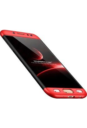 Gpack Samsung Galaxy J7 Pro Kılıf 360 Derece 3 Parçalı Ays Kılıf