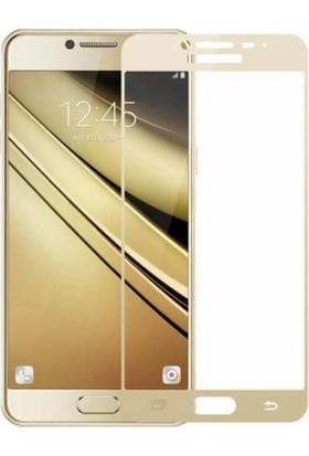 Gpack Samsung Galaxy C5 Pro Renkli Cam Ekran Koruyucu