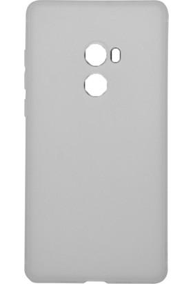 Gpack Xiaomi Mi Max 2 Kılıf Kamera Korumalı İmax Silikon Kılıf + Cam