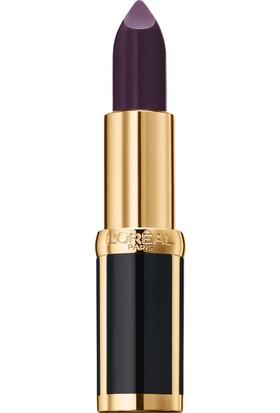 L'Oréal Paris Color Riche x Balmain Collection Couture Woman Mat Ruj 468 Liberation