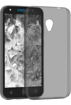 Microsonic Alcatel U5 Kılıf Transparent Soft