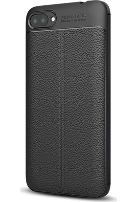 Microsonic Asus Zenfone 4 Max (5.5'') ZC554KL Kılıf Suni Deri Silikon