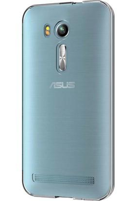 Microsonic Asus Zenfone Go (5.5'') ZB552KL Kılıf Transparent Soft Beyaz