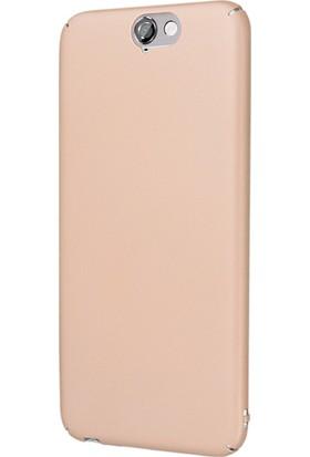 Microsonic HTC A9 Kılıf Slim Fit Rubber + Nano Cam