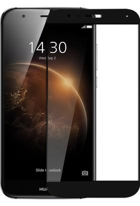 Microsonic Huawei Ascend G8 Tam Kaplayan Temperli Cam Ekran koruyucu Film