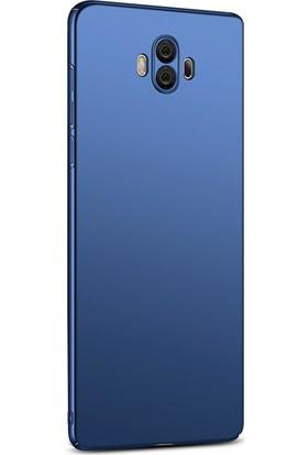 Microsonic Huawei Mate 10 Kılıf Slim Fit Rubber + Nano Cam