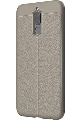 Microsonic Huawei Mate 10 Lite Kılıf Suni Deri Silikon