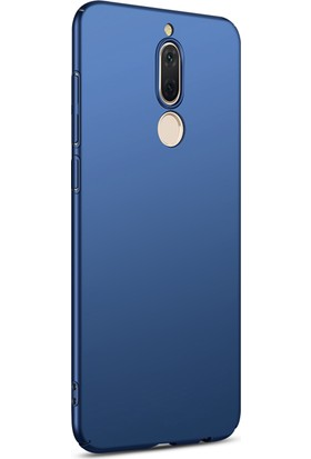 Microsonic Huawei Mate 10 Lite Kılıf Slim Fit Rubber + Nano Cam