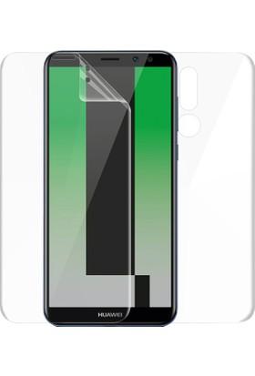 Microsonic Huawei Mate 10 Lite Ön + Arka Kavisler Dahil Tam Ekran Kaplayıcı Film