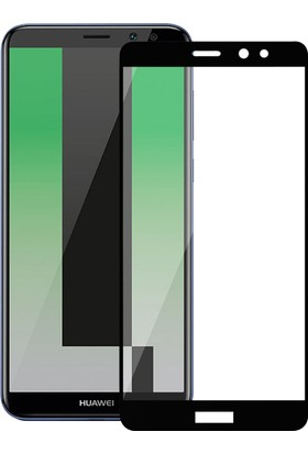 Microsonic Huawei Mate 10 Lite Tam Kaplayan Temperli Cam Ekran koruyucu Film