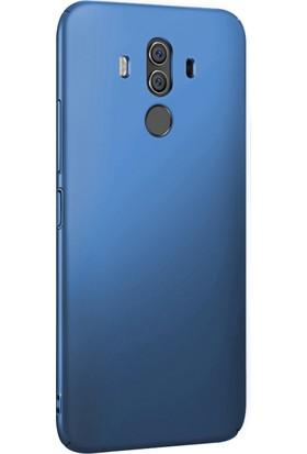 Microsonic Huawei Mate 10 Pro Kılıf Slim Fit Rubber + Nano Cam