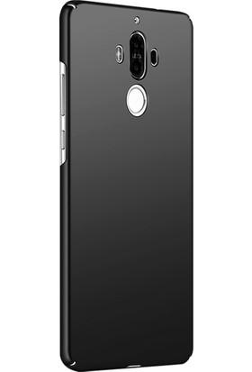 Microsonic Huawei Mate 9 Kılıf Slim Fit Rubber + Nano Cam