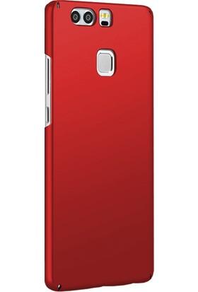 Microsonic Huawei P9 Klıf Slim Fit Rubber + Nano Cam