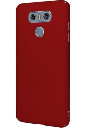 Microsonic LG G6 Klıf Slim Fit Rubber + Nano Cam