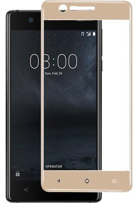 Microsonic Nokia 3 Tam Kaplayan Temperli Cam Ekran koruyucu Film