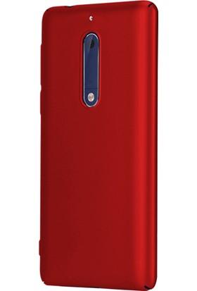 Microsonic Nokia 5 Klıf Slim Fit Rubber + Nano Cam