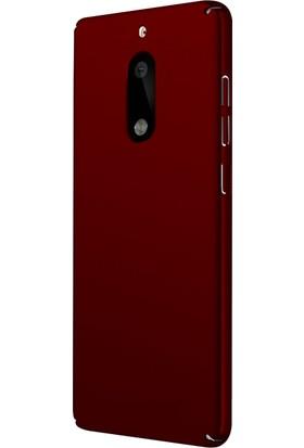 Microsonic Nokia 6 Klıf Slim Fit Rubber + Nano Cam