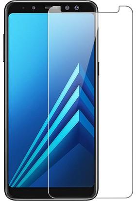 Microsonic Samsung Galaxy A8 2018 Temperli Cam Ekran koruyucu film
