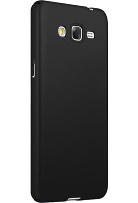 Microsonic Samsung Galaxy J2 Prime Kılıf Slim Fit Rubber + Nano Cam