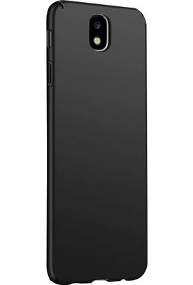 Microsonic Samsung Galaxy J7 Pro Kılıf Slim Fit Rubber + Nano Cam