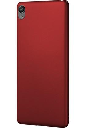 Microsonic Sony Xperia X Klıf Slim Fit Rubber + Nano Cam